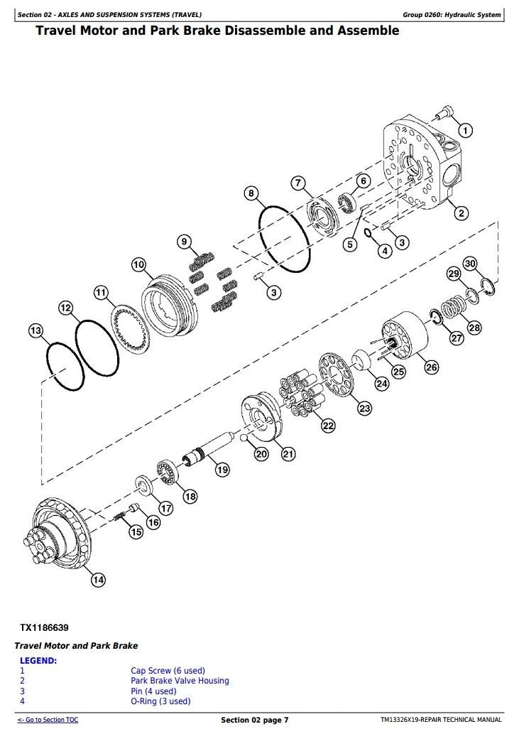 TM13326X19 - John Deere 17G (SN. from 225001) Compact Excavator Service Repair Technical Manual - 1