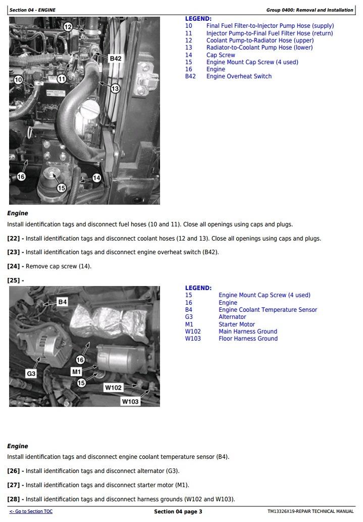 TM13326X19 - John Deere 17G (SN. from 225001) Compact Excavator Service Repair Technical Manual - 2