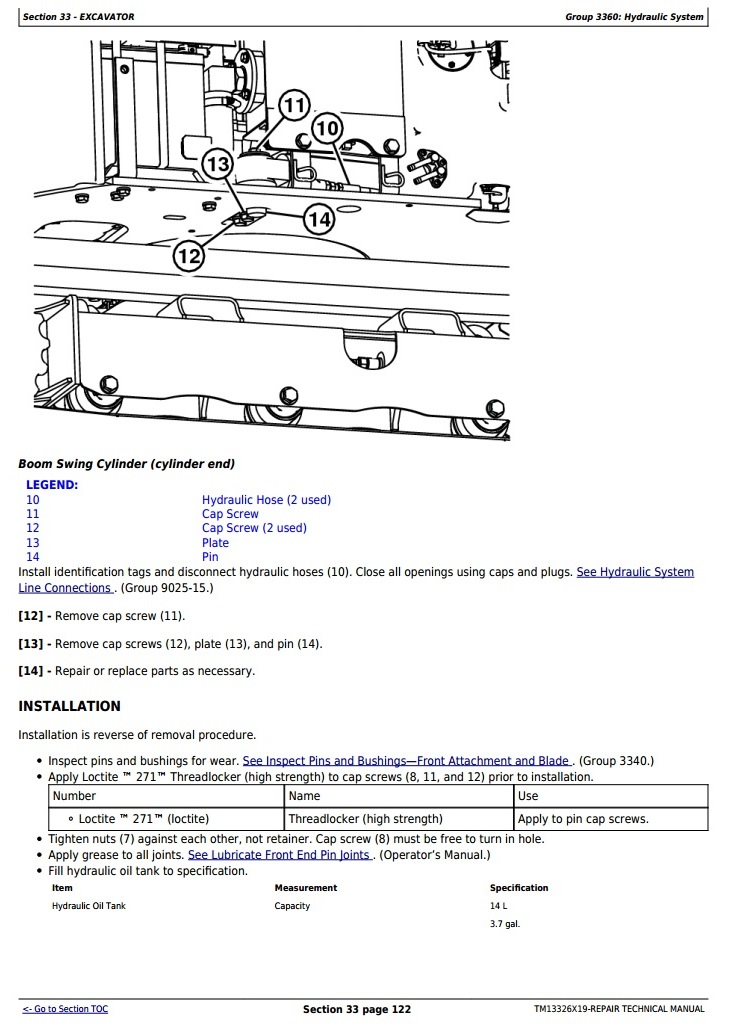 TM13326X19 - John Deere 17G (SN. from 225001) Compact Excavator Service Repair Technical Manual - 3