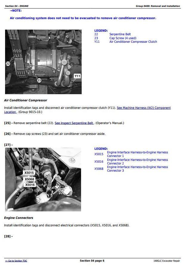 TM13349X19 - John Deere 160GLC (PIN: 1FF160GX__F055671-) Excavator Service Repair Technical Manual - 1