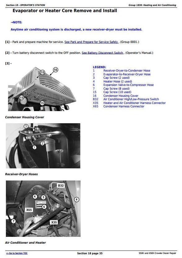 TM13357X19 - John Deere 550K, 650K Crawler Dozer (S.N. from 275977) Service Repair Technical Manual - 3