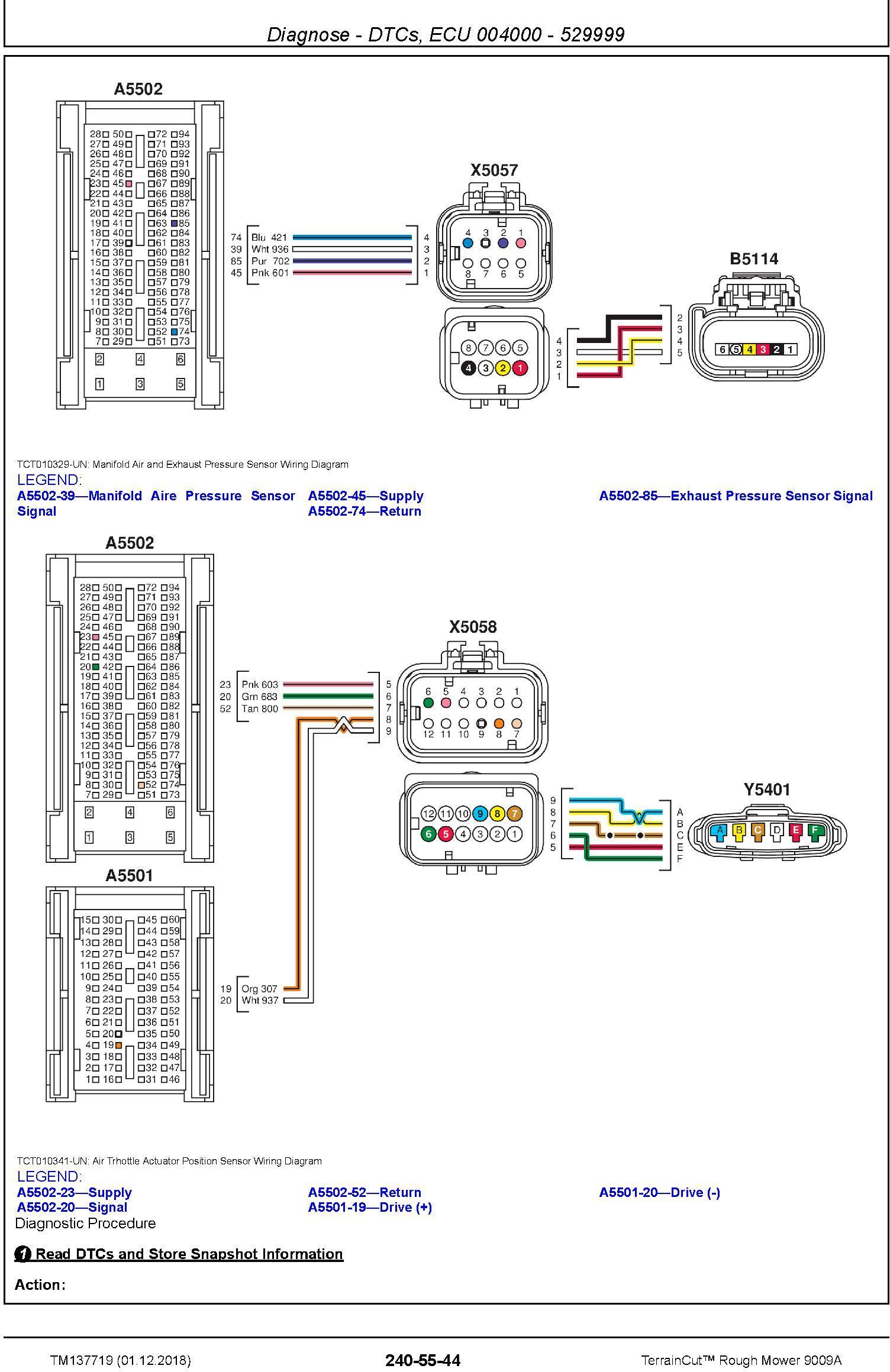 John Deere TerrainCut Rough Mower 9009A Technical Service Manual (TM137719) - 1