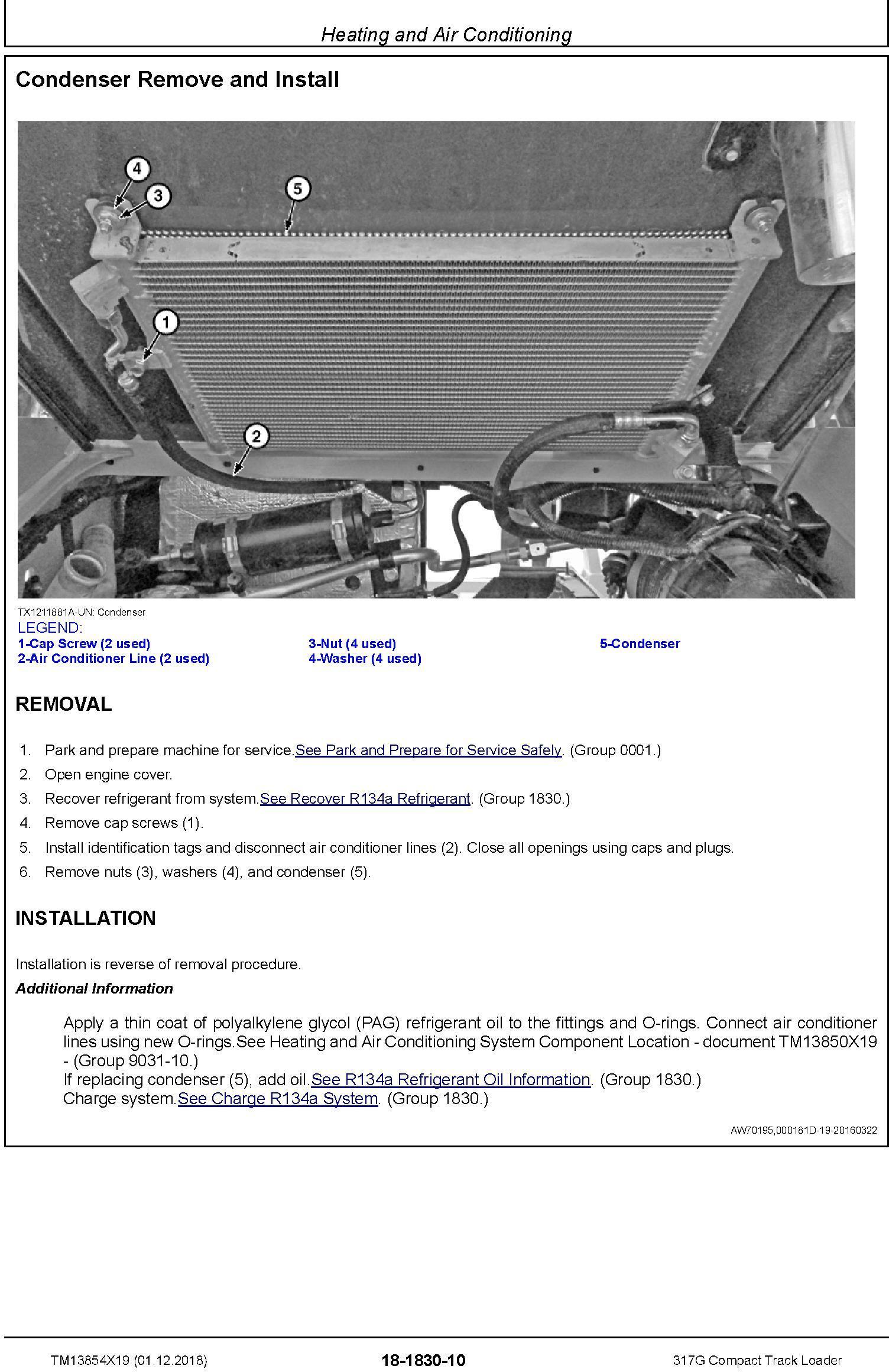 John Deere 317G Compact Track Loader Service Repair Manual (TM13854X19) - 3