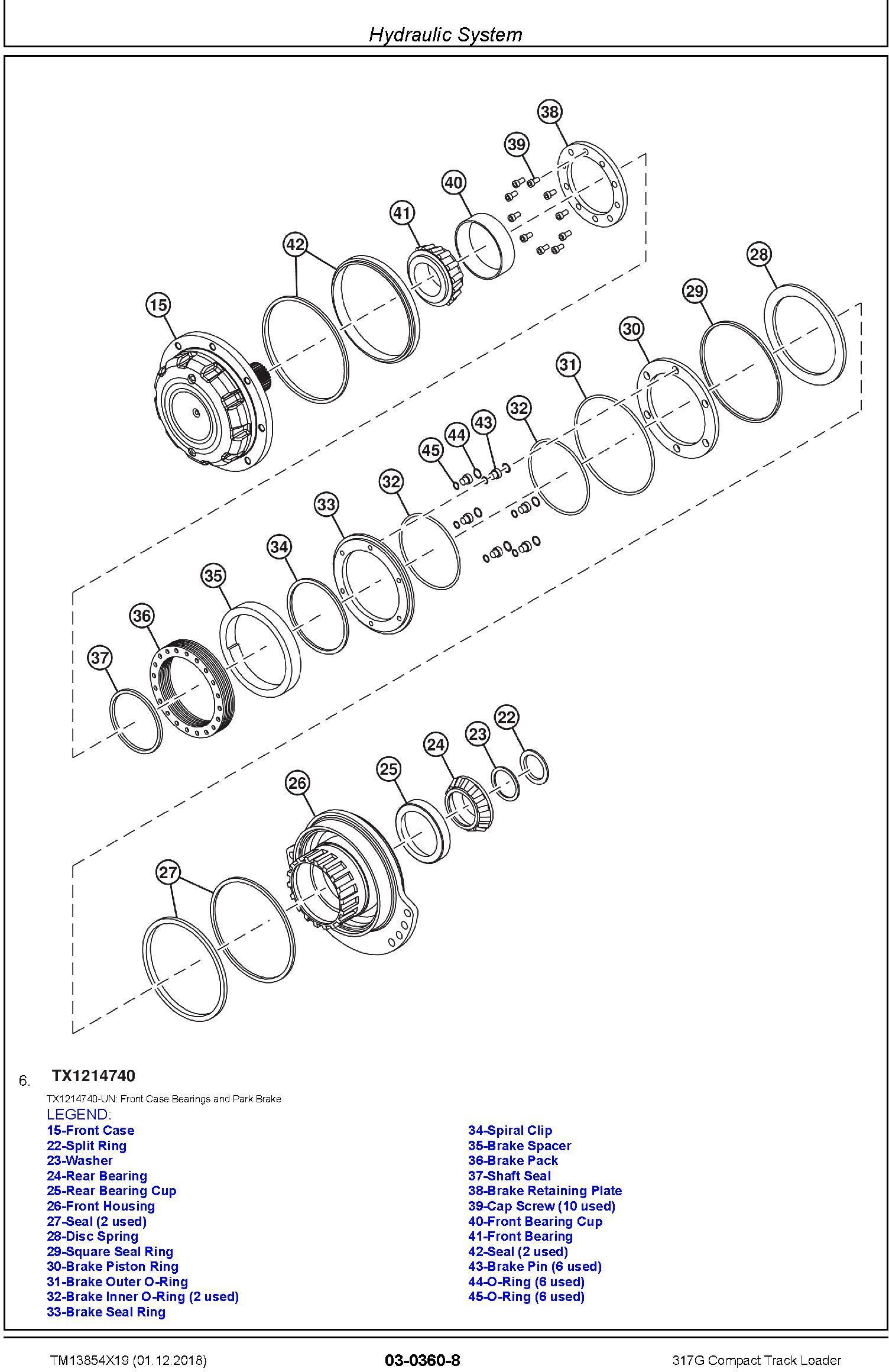 John Deere 317G Compact Track Loader Service Repair Manual (TM13854X19) - 1