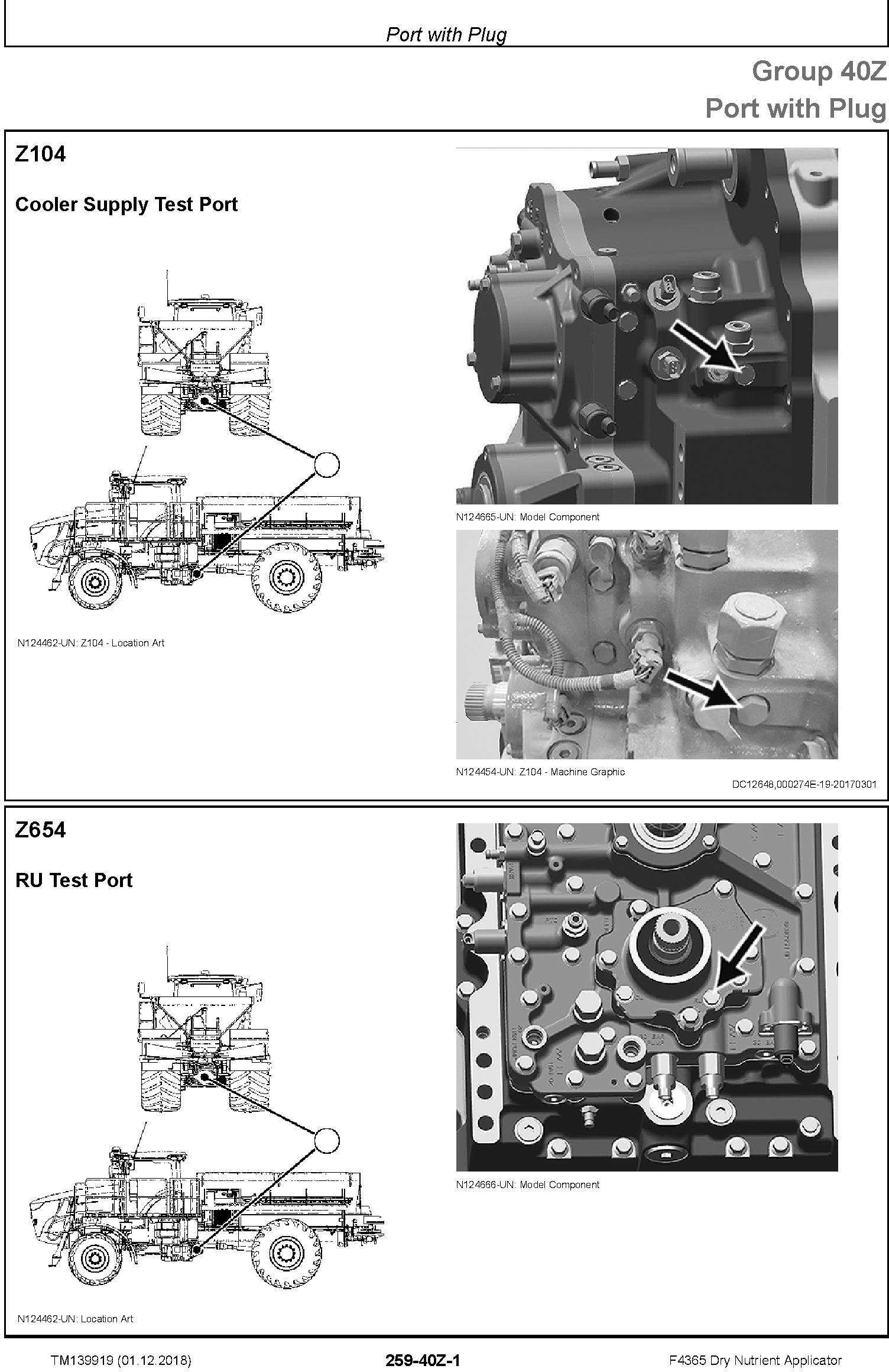 John Deere F4365 Dry Nutrient Applicator Diagnostic Technical Service Manual (TM139919) - 2