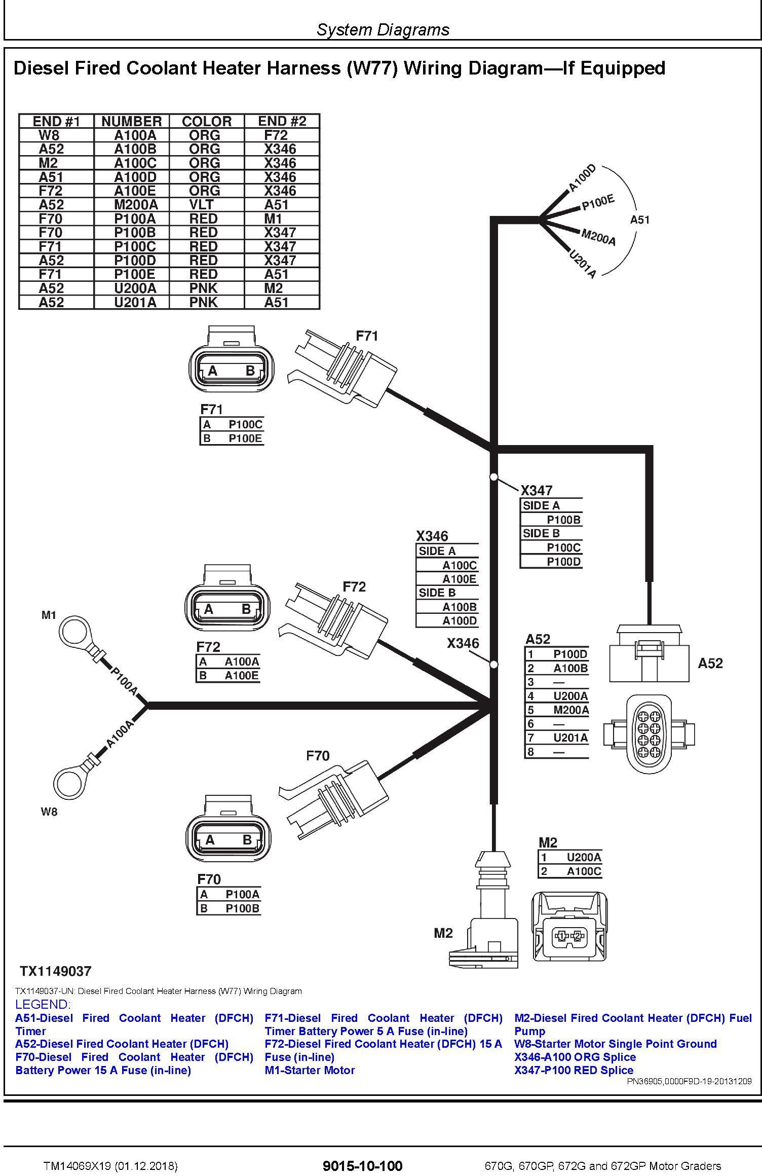 John Deere 670G, 670GP, 672G and 672GP Motor Graders Operation & Test Technical Manual (TM14069X19) - 2