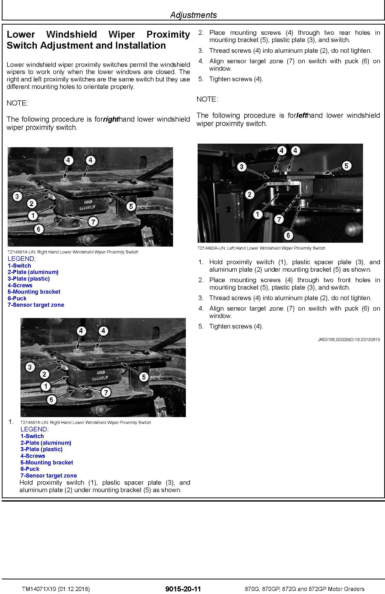 John Deere 870G, 870GP, 872G, 872GP (SN.F678818-680877) Motor Graders Diagnostic Manual (TM14071X19) - 3