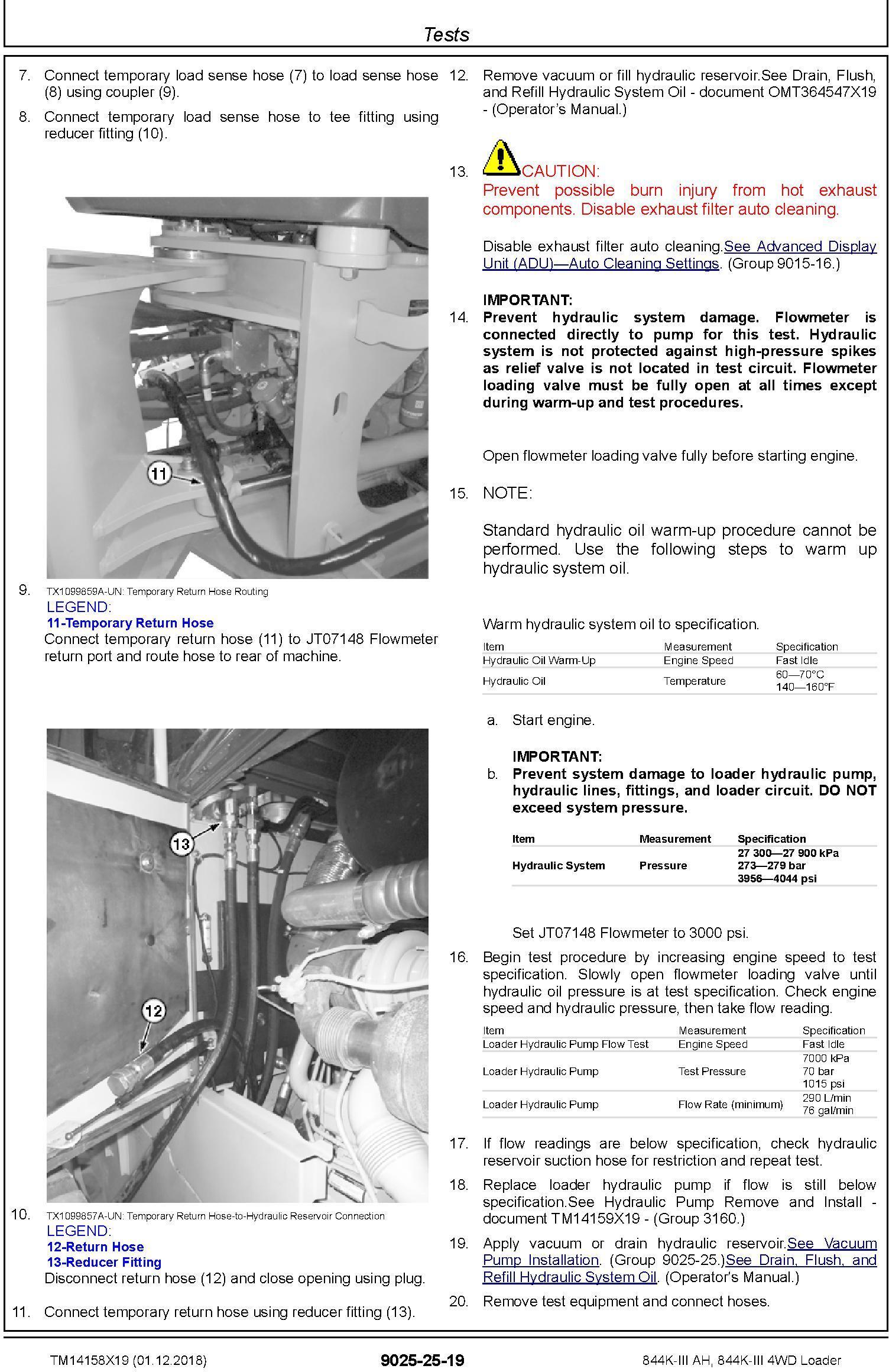 John Deere 844K-III AH, 844K-III (SN. F677782-) 4WD Loader Diagnostic Technical Manual (TM14158X19) - 3