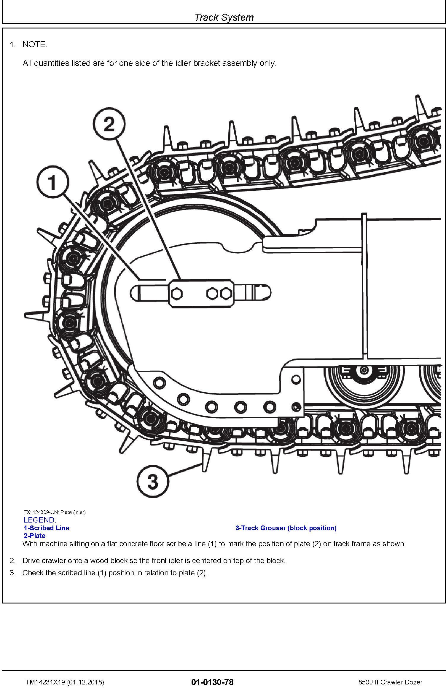 John Deere 850J-II (SN. D306725-323043) Crawler Dozer Service Repair Technical Manual (TM14231X19) - 3