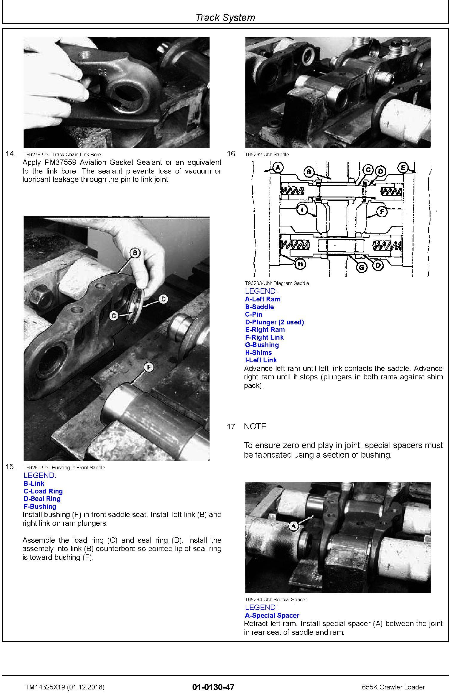 John Deere 655K Crawler Loader Repair Technical Manual (TM14325X19) - 3