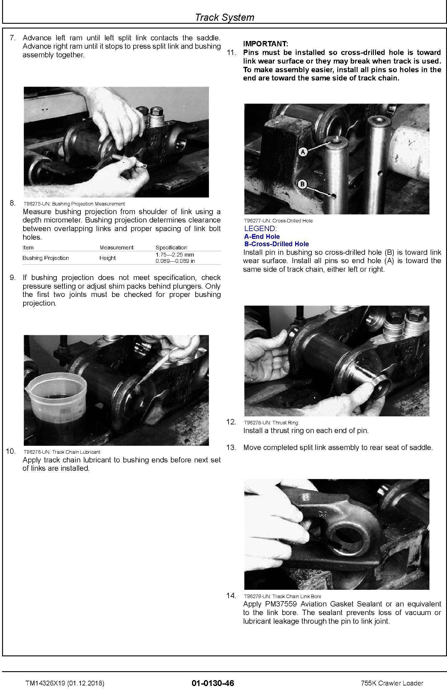 John Deere 755K Crawler Loader Repair Technical Manual (TM14326X19) - 3