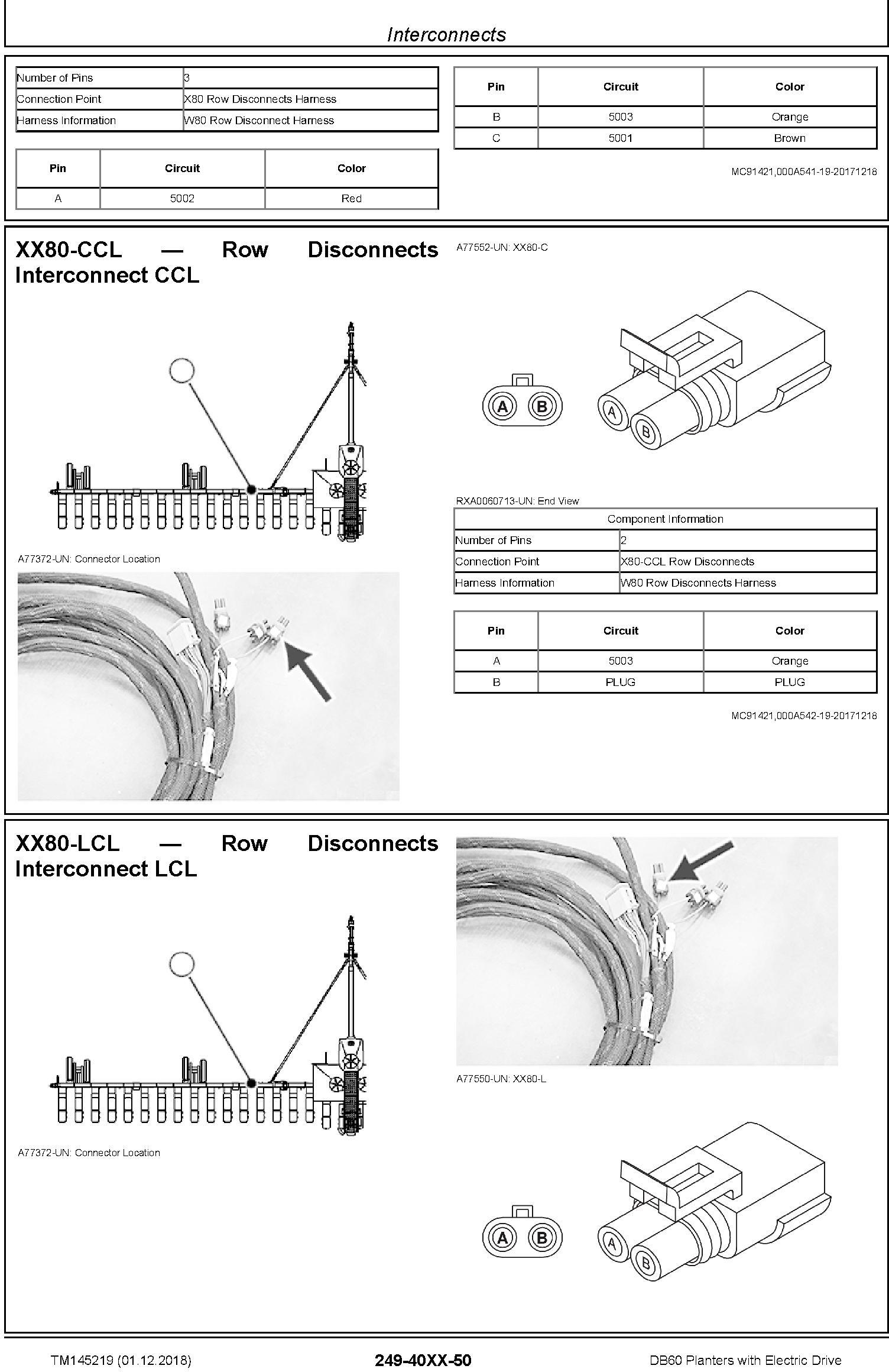 John Deere DB60 Planters with Electric Drive Diagnostic (SN.775100-) Technical Manual (TM145219) - 2