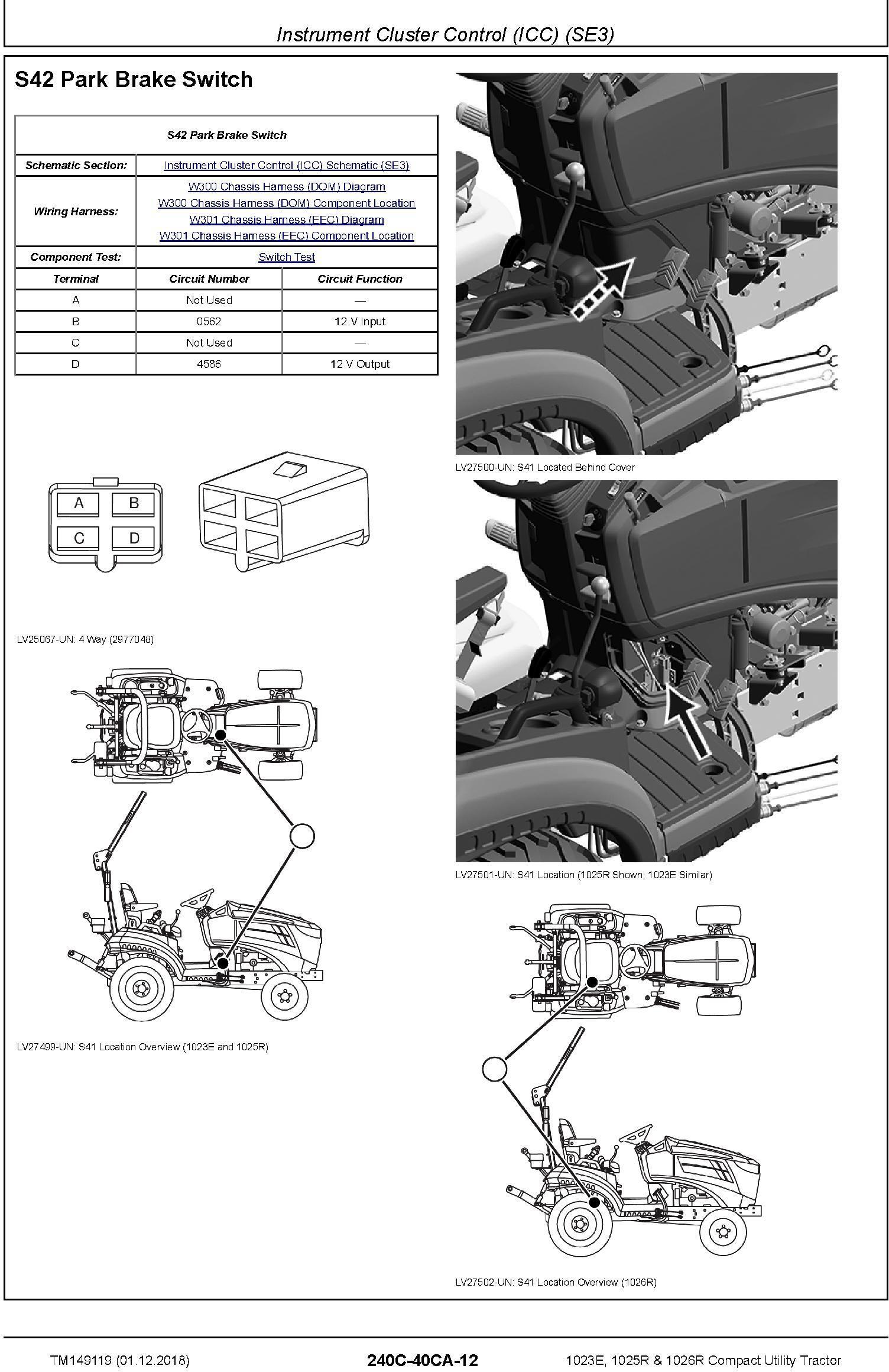 John Deere 1023E, 1025R, 1026R Compact Utility Tractor (SN. HJ0100001- ) Technical Manual (TM149119) - 3