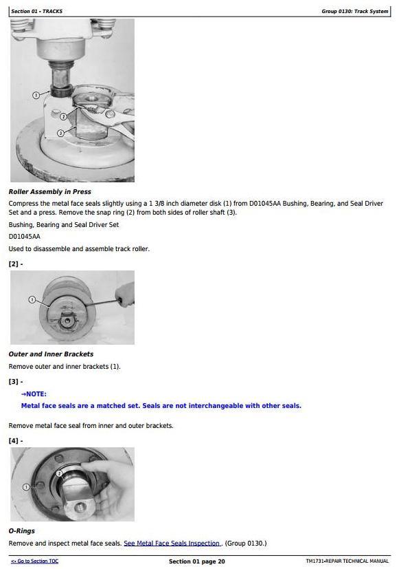 TM1731 - John Deere 850J Dozer (SN.130886-) w.Engine 6090HT001 Crawler Dozer Service Repair Manual - 3