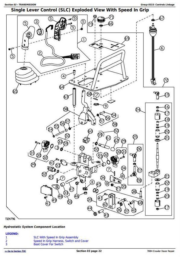 TM1859 - John Deere 700H Crawler Dozer Service Repair Technical Manual - 2