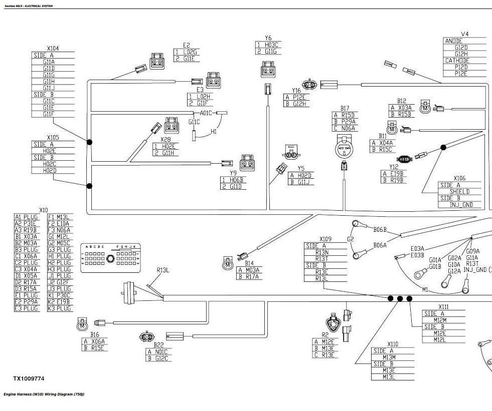 TM2261 - John Deere 750J (S.N. -141343) , 850J (S.N.-130885) Crawler Dozer Service Repair Manual - 3