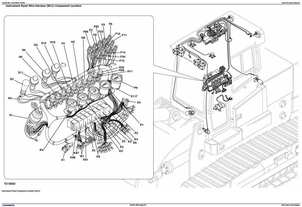 TM2353 - John Deere 605C Crawler Loader Diagnostic, Operation and Test Service Manual - 3