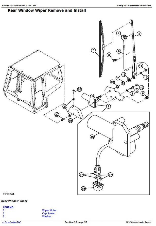 TM2354 - John Deere 605C Crawler Loader Service Repair Technical Manual - 3