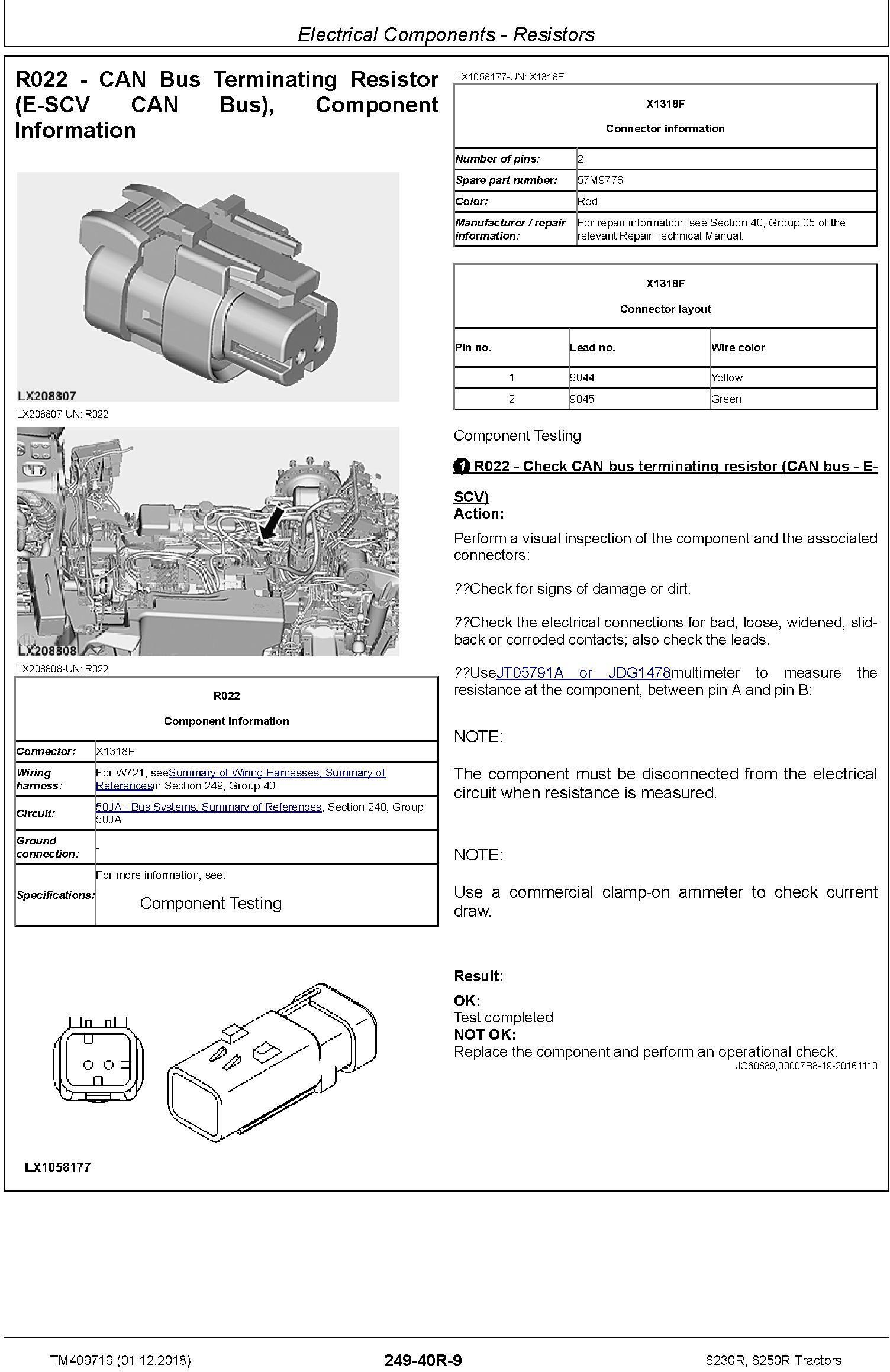 John Deere 6230R, 6250R Tractors MY2017,18,19 Diagnostic Technical Service Manual (TM409719) - 3