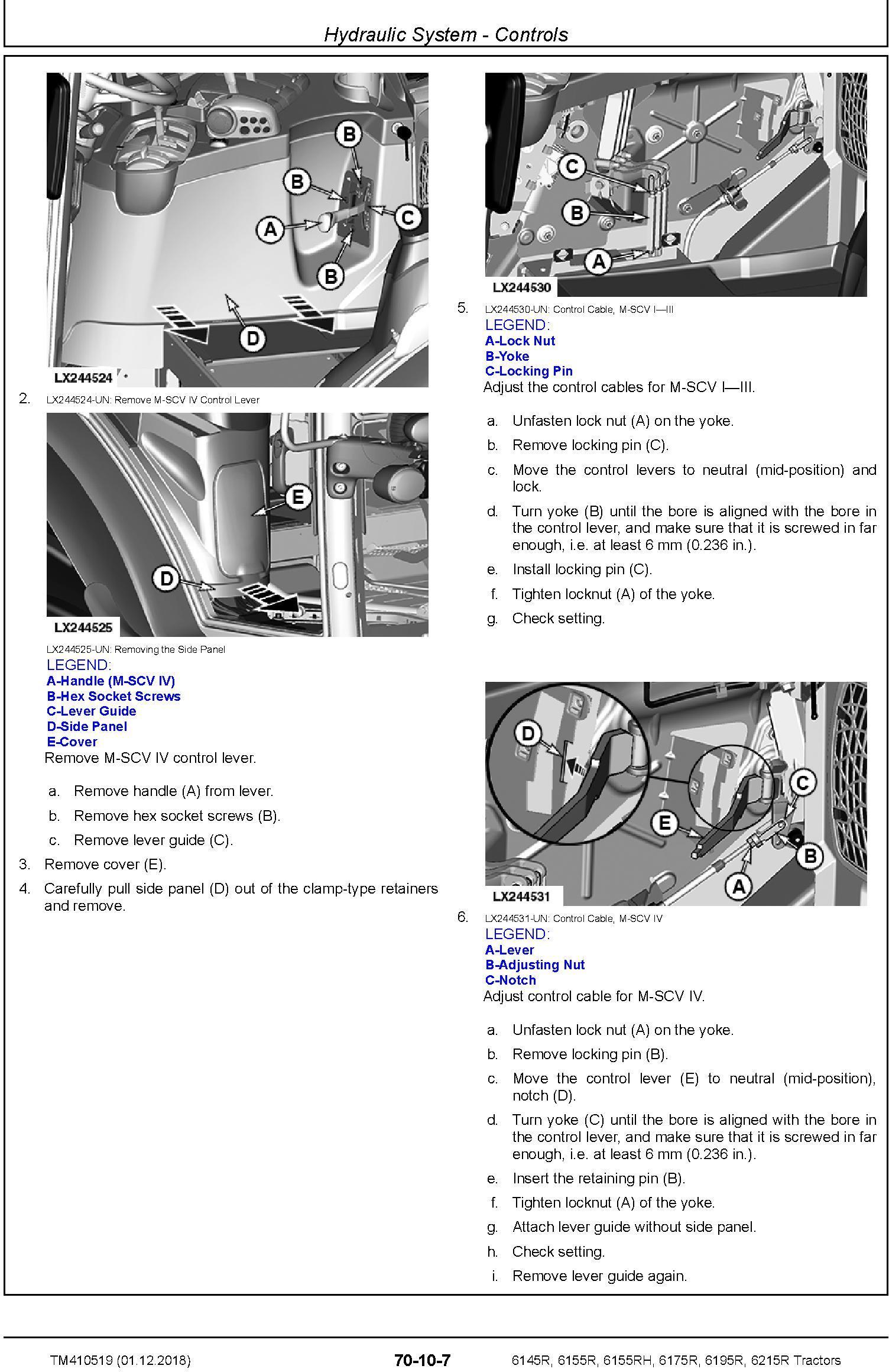 John Deere 6145R, 6155R, 6155RH, 6175R, 6195R, 6215R MY18 Tractor Repair Technical Manual (TM410519) - 3