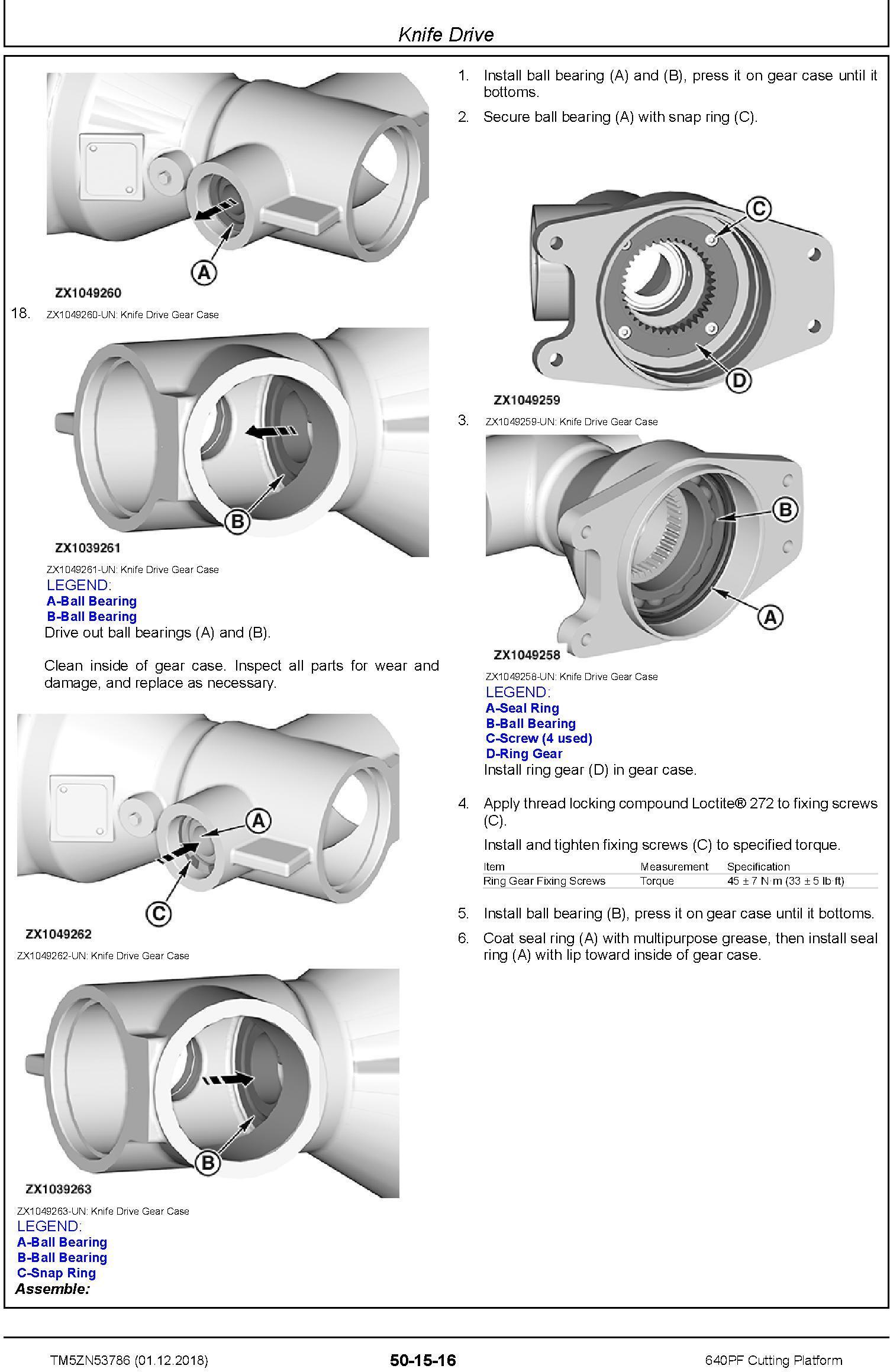 John Deere 640PF Cutting Platform Technical Service Manual (TM5ZN53786) - 3