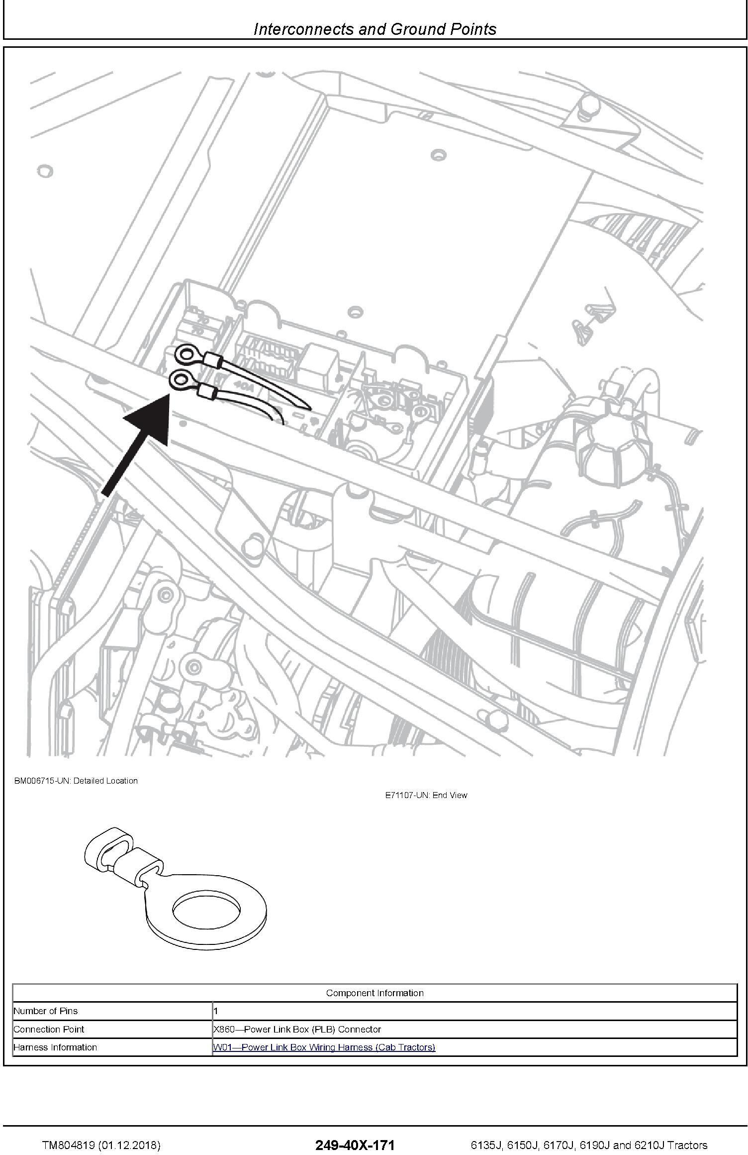 John Deere 6135J, 6150J, 6170J, 6190J, 6210J Tractors Diagnostic Technical Service Manual (TM804819) - 2