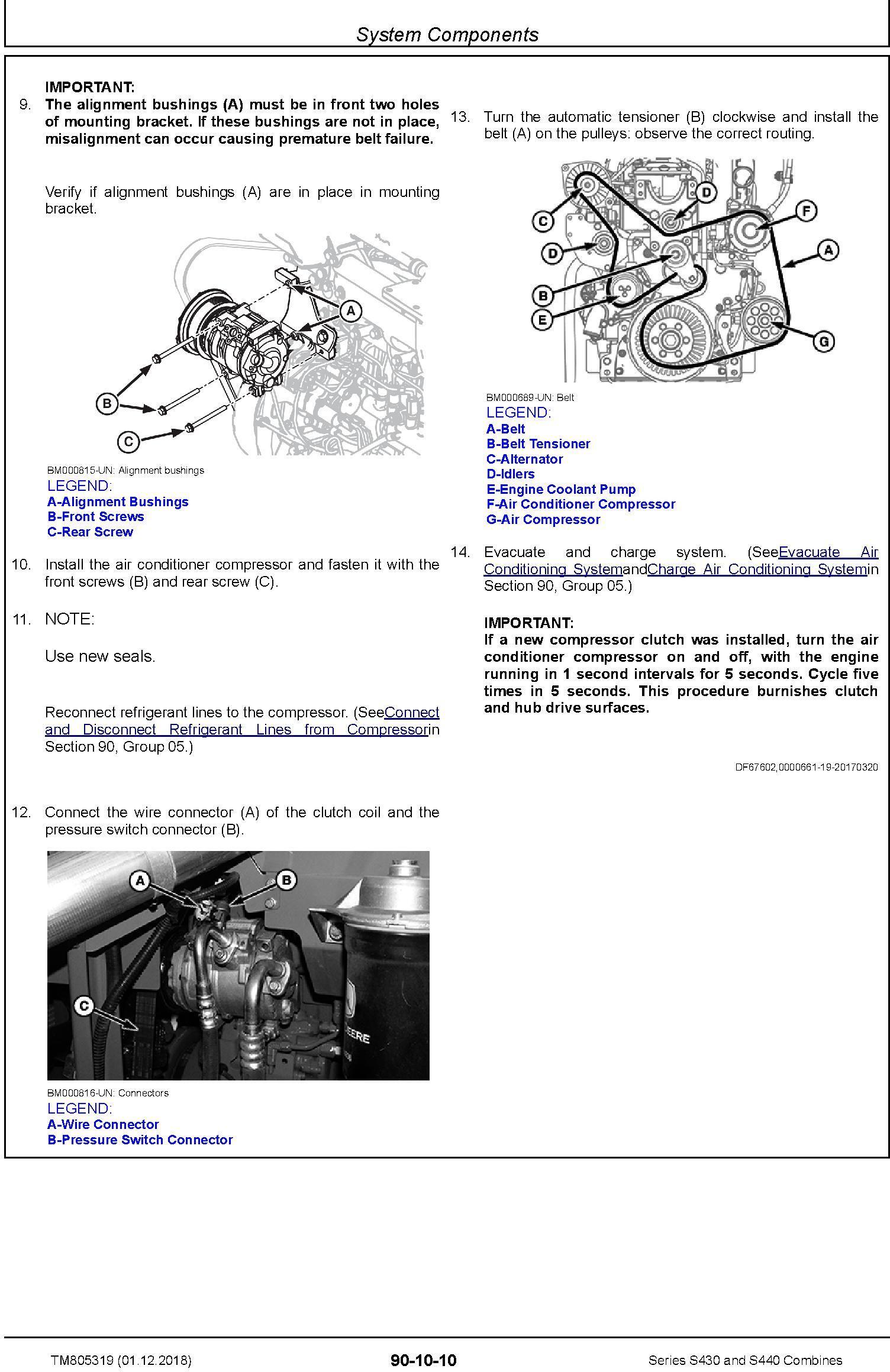JD John Deere S430 and S440 Combines Repair Technical Service Manual (TM805319) - 3