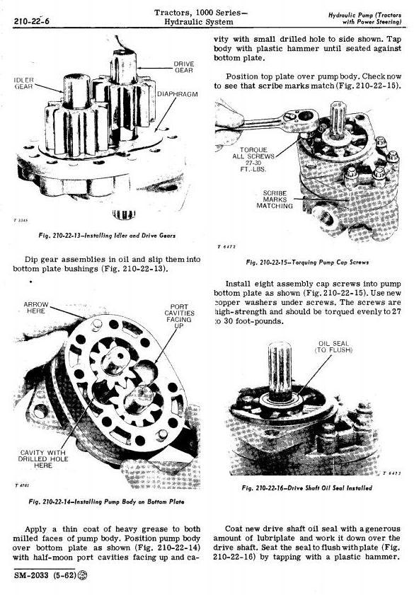 SM2033 - John Deere 1010, 1010RS, 1010RU, 1010RUS, 1010O, 1010U, 1010R Tractors Technical Service Manual - 3
