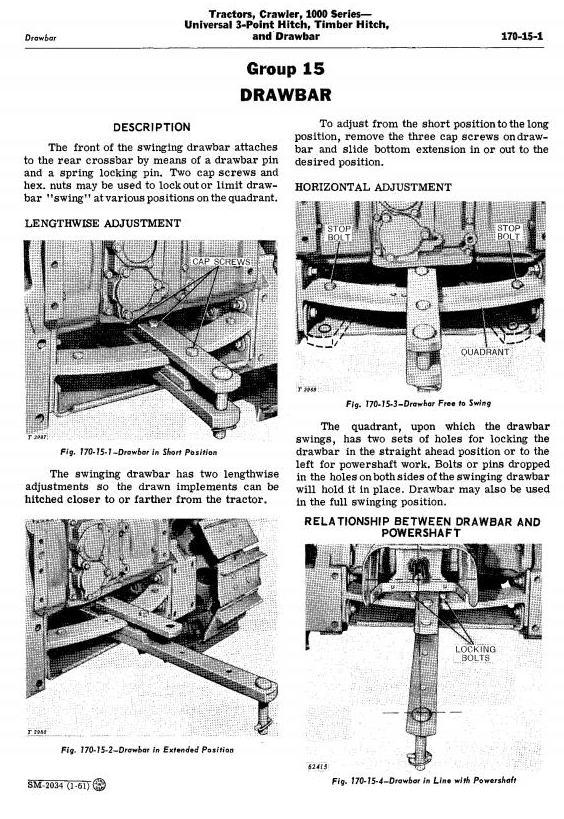 SM2034 - John Deere 1010 Crawler Tractors Technical Service Manual - 3