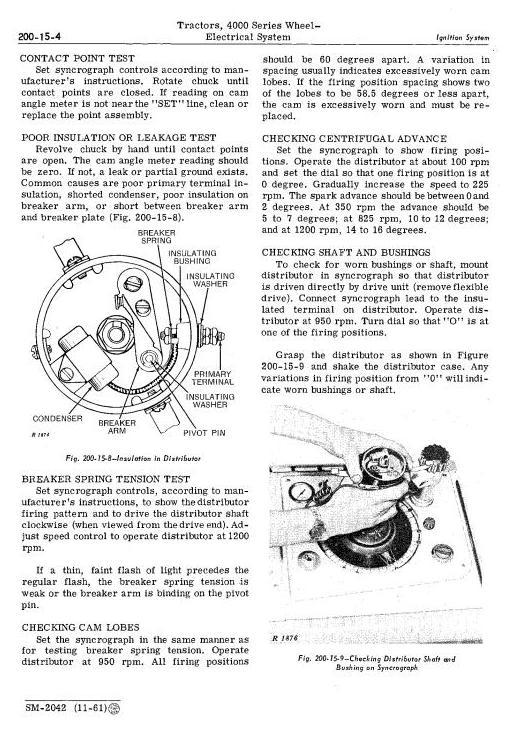 SM2042 - John Deere 4010 Tractors Service Technical Manual - 2