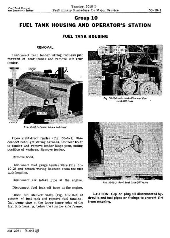SM2051 - John Deere 5010, 5010i Tractors All Inclusive Technical Service Manual - 2