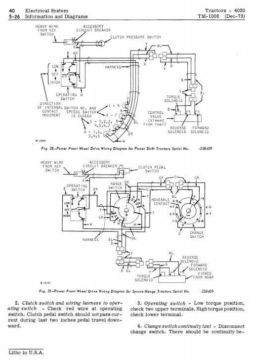 TM1006 - John Deere 4000, 4020 Tractors Diagnostic and Repair Technical Service Manual - 2