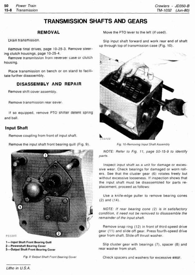 TM1032 - John Deere 350B Crawler Tractors and Loaders Technical Service Manual - 3