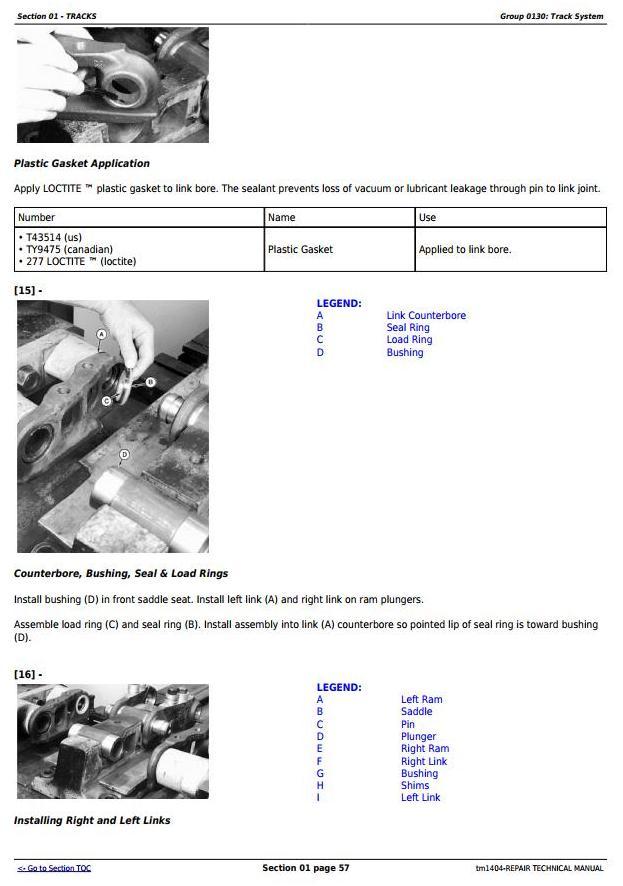 TM1404 - John Deere 450G, 550G, 650G Crawler Dozer; 455G, 555G Loader Service Repair Technical Manual - 1