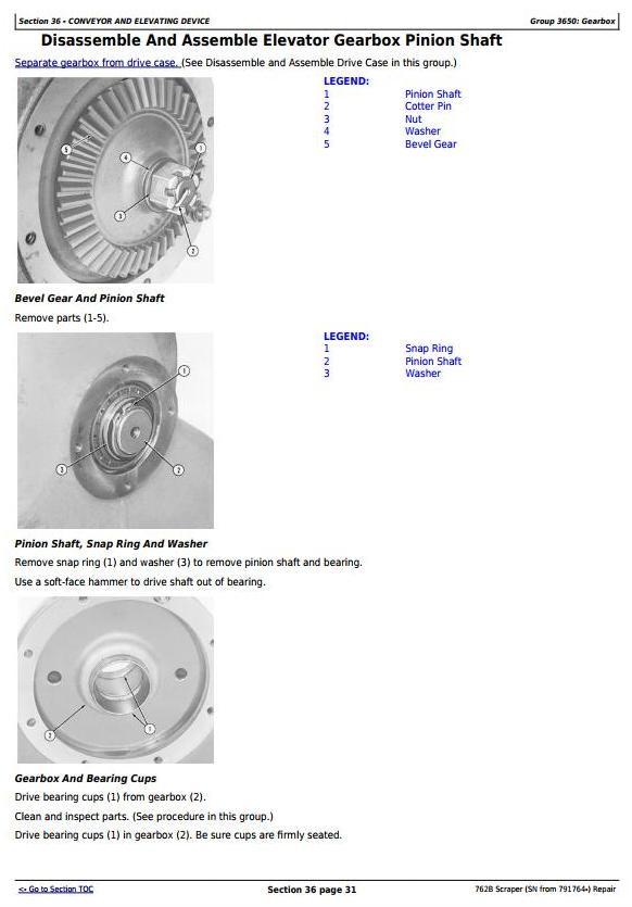 TM1568 - John Deere 762B (SN from 791764-) Scraper Service Repair Technical Manual - 2