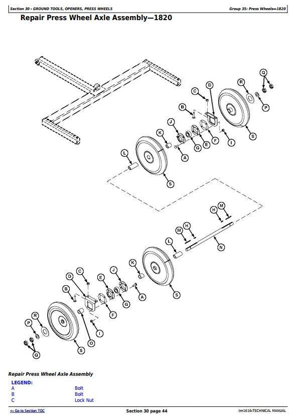 TM1616 - John Deere CCS Air Seeding Tools Technical Service Manual - 1