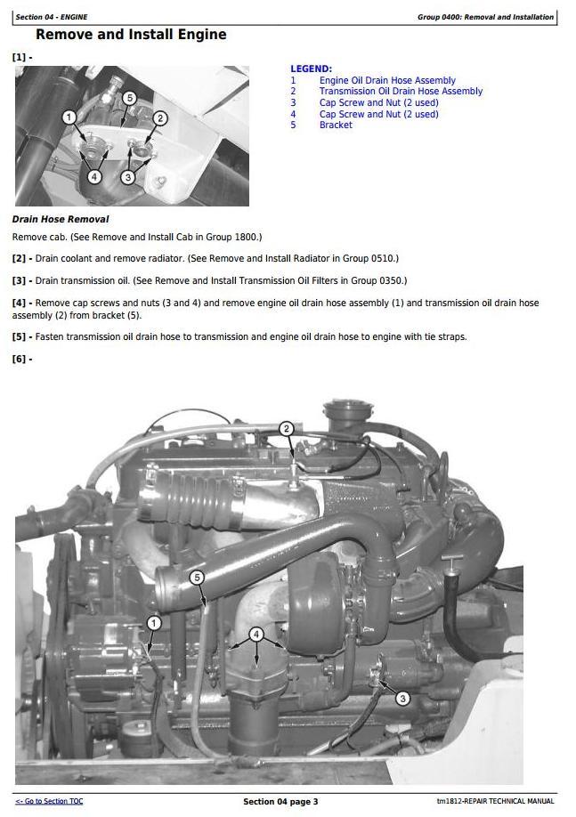 TM1812 - John Deere Bell B25C Articulated Dump Truck Service Repair Technical Manual - 1