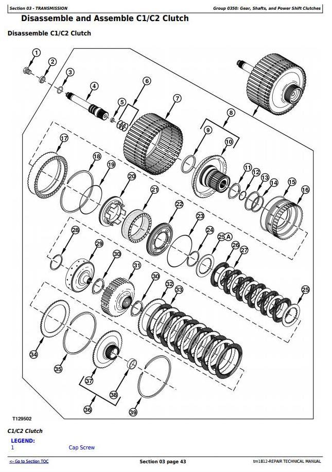 TM1812 - John Deere Bell B25C Articulated Dump Truck Service Repair Technical Manual - 2