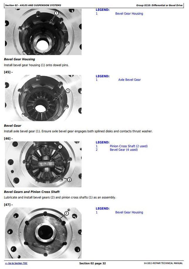 TM1812 - John Deere Bell B25C Articulated Dump Truck Service Repair Technical Manual - 3