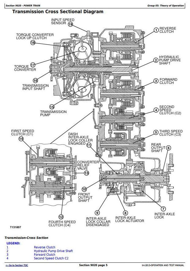TM1813 - John Deere Bell B30C Articulated Dump Truck Diagnostic, Operation and Test Service Manual - 1