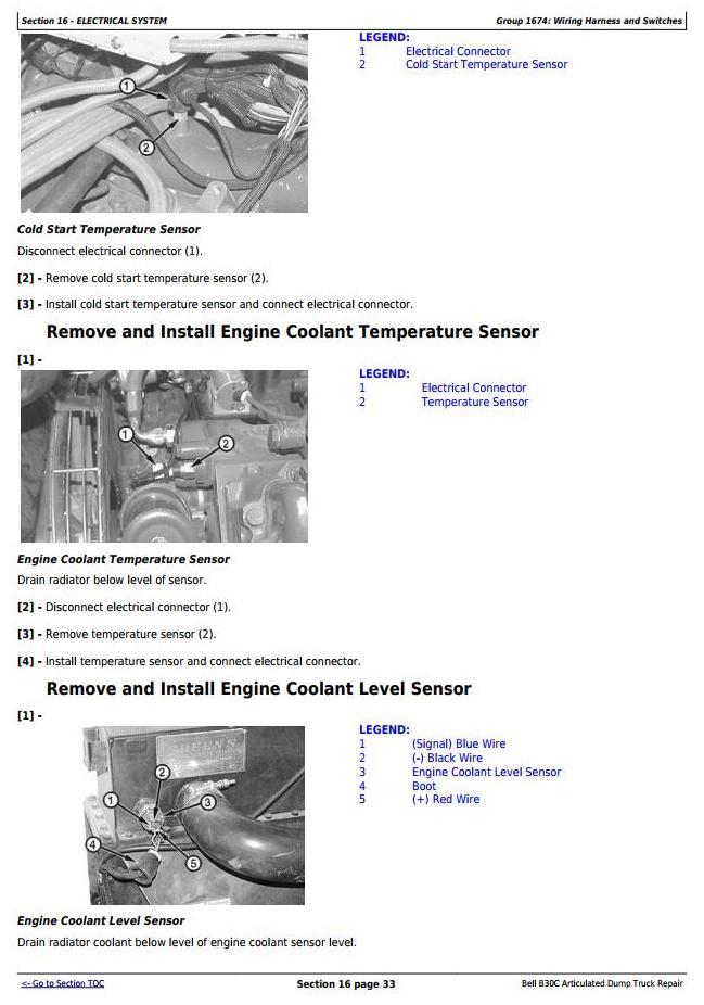 TM1814 - John Deere BELL B30C Articulated Dump Truck Service Repair Technical Manual - 3