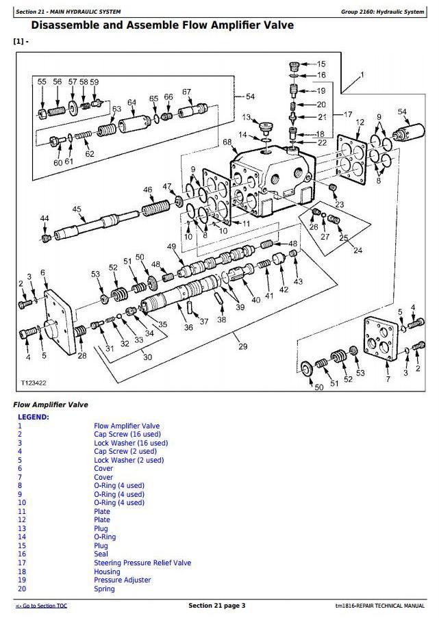 TM1816 - John Deere BELL B35C and B40C Articulated Dump Truck Service Repair Technical Manual - 1