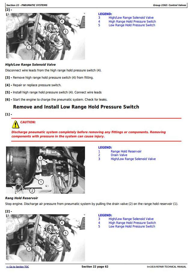 TM1816 - John Deere BELL B35C and B40C Articulated Dump Truck Service Repair Technical Manual - 2