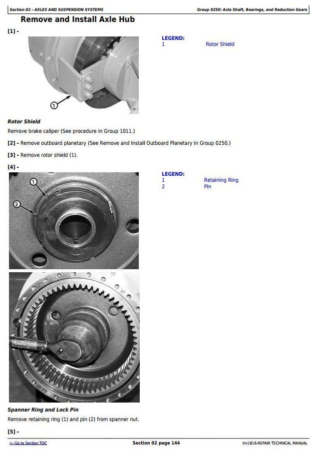 TM1816 - John Deere BELL B35C and B40C Articulated Dump Truck Service Repair Technical Manual - 3