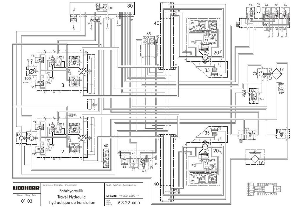 TM1945 - John Deere 655C, 755C; Liebherr 622, 632 Crawler Loaders Service Repair Technical Manual - 1