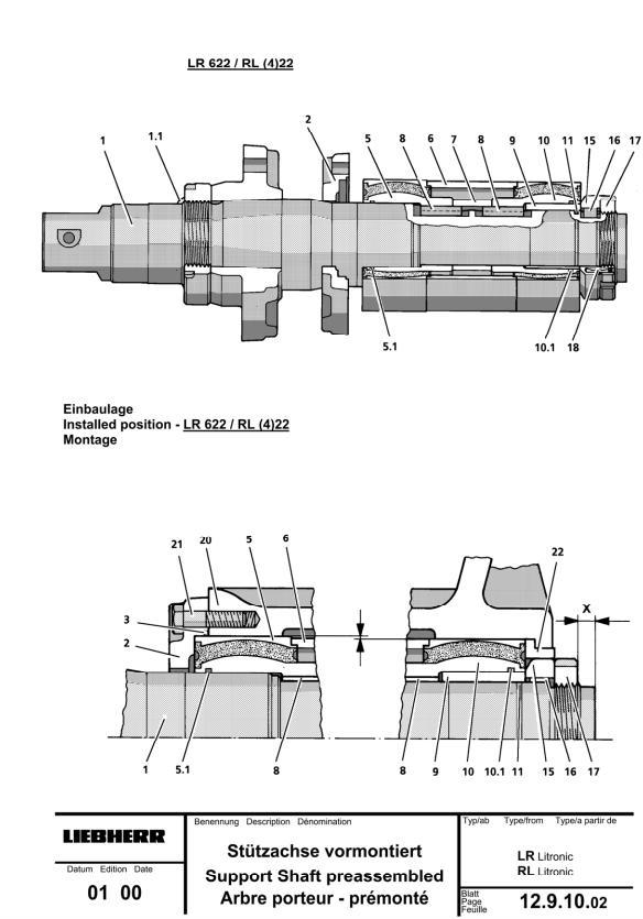 TM1945 - John Deere 655C, 755C; Liebherr 622, 632 Crawler Loaders Service Repair Technical Manual - 3