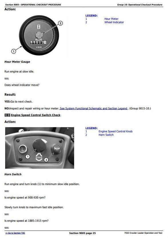 TM2366 - John Deere 755D Crawler Loader Diagnostic, Operation and Test Service Manual - 1
