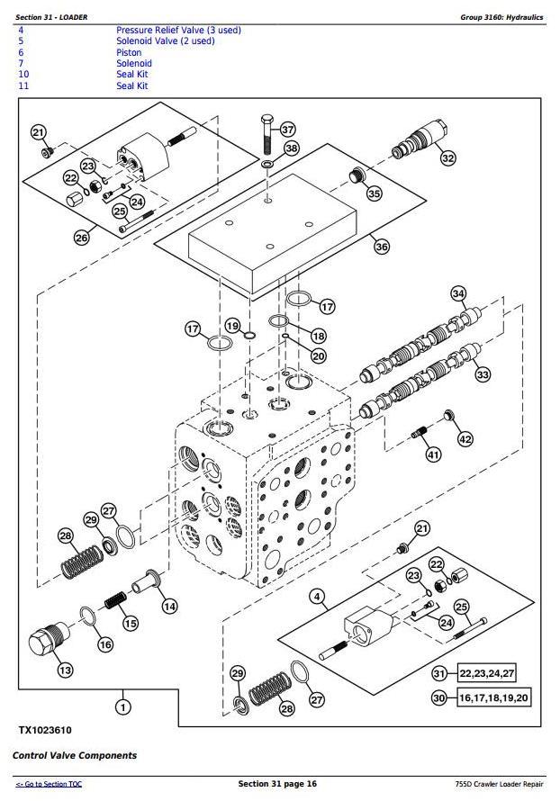 TM2367 - John Deere 755D Crawler Loader Service Repair Technical Manual - 2